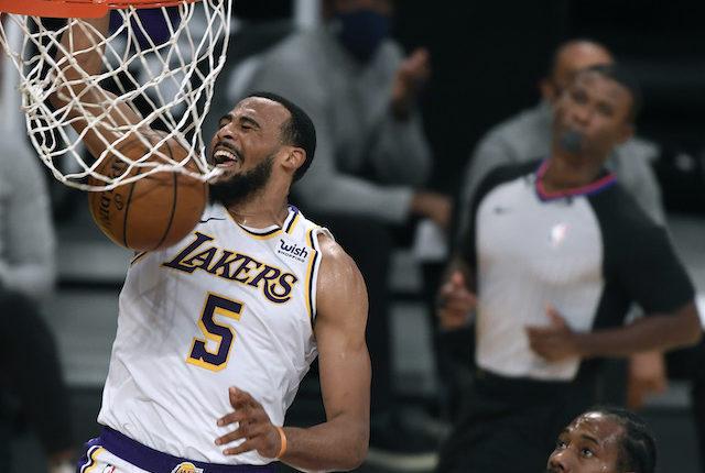 Talen Horton-Tucker, Kawhi Leonard, Lakers