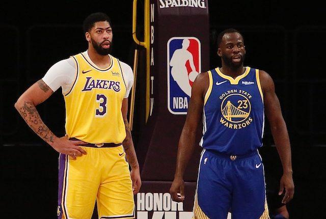 Anthony Davis, Draymond Green, Lakers