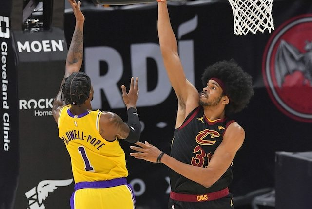 Kentavious Caldwell-Pope, Los Angeles Lakers, Jarrett Allen, Cleveland Cavaliers