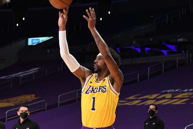 Kentavious Caldwell-Pope, Lakers, LeBron James