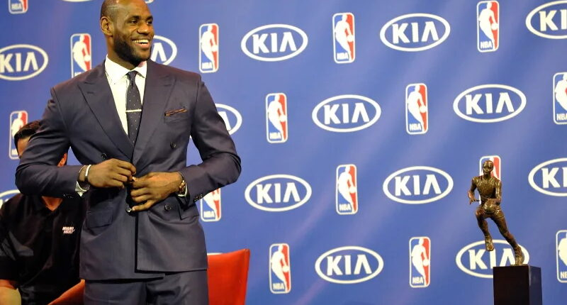 LeBron James MVP 2013