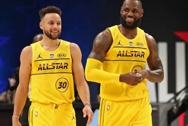 LeBron James, Los Angeles Lakers, Stephen Curry, Golden State Warriors