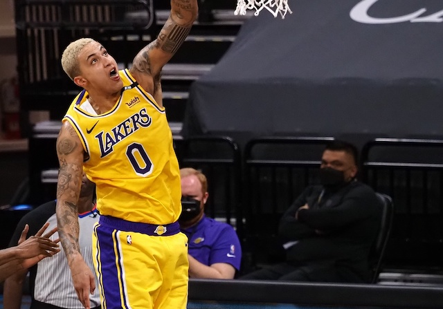 Kyle Kuzma Believes Win Against Kings Was Lakers' Best Without LeBron James & Anthony Davis