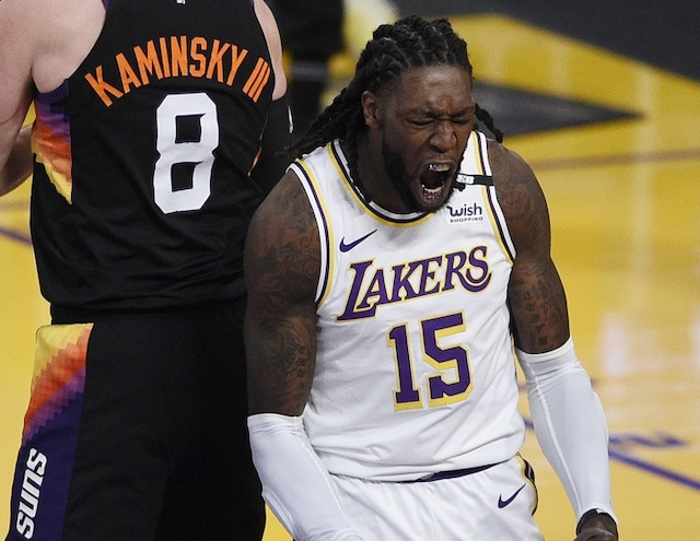 Lakers' Montrezl Harrell Staying Locked In Despite Change In Role
