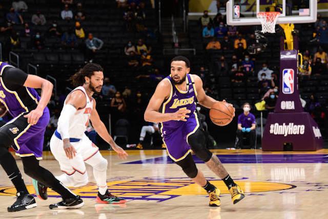 Talen Horton-Tucker Derrick Rose, Lakers