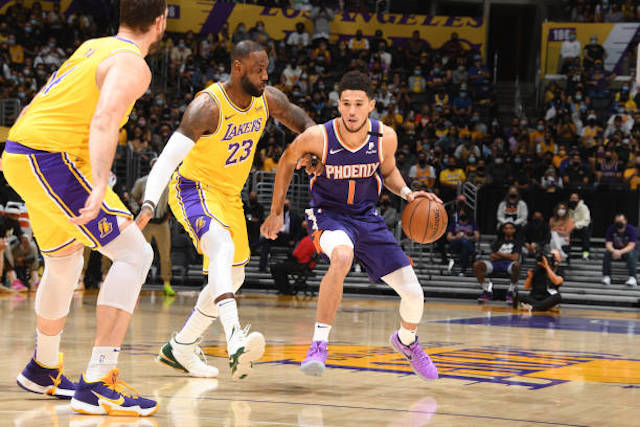 Los Angeles Lakers Game Over