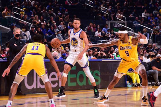 Recap: Lakers Comeback Attempt Against Warriors Falls Short In Russell Westbrook & LeBron James' Preseason Debuts - LakersNation